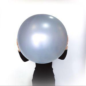 """36"""" Gray Heavy Duty Jumbo Balloons 5PK Party Decor"""